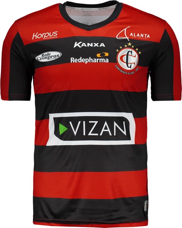Kanxa apresenta as novas camisas do Campinense - Show de Camisas e12ce33191e36