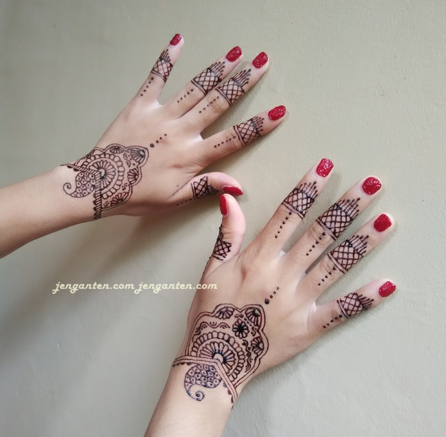 Gambar Henna Yang Gampang Ditiru Balehenna