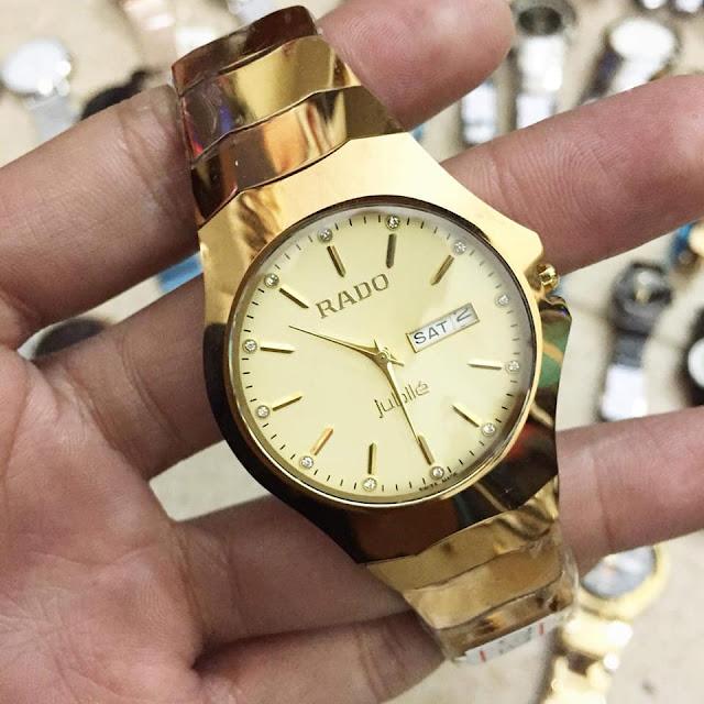 Rado đồng hồ đeo tay mang phong cách thời trang thượng hạng