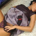 Andrea Rincon, Selena Spice Galeria 15: Vestido Cafe, Falda a Cuadros Foto 90