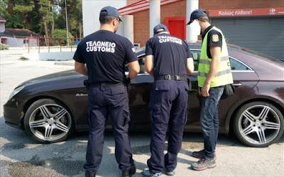 Θεσσαλονίκη: Δέσμευση έξι αυτοκινήτων με ξένες πινακίδες