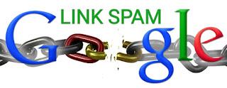 Hindari pemakaian terlalu banayak link mengakibatkam Spam