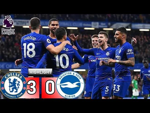 Chelsea vs Brighton 3-0 Football Highlights and Goals 2019