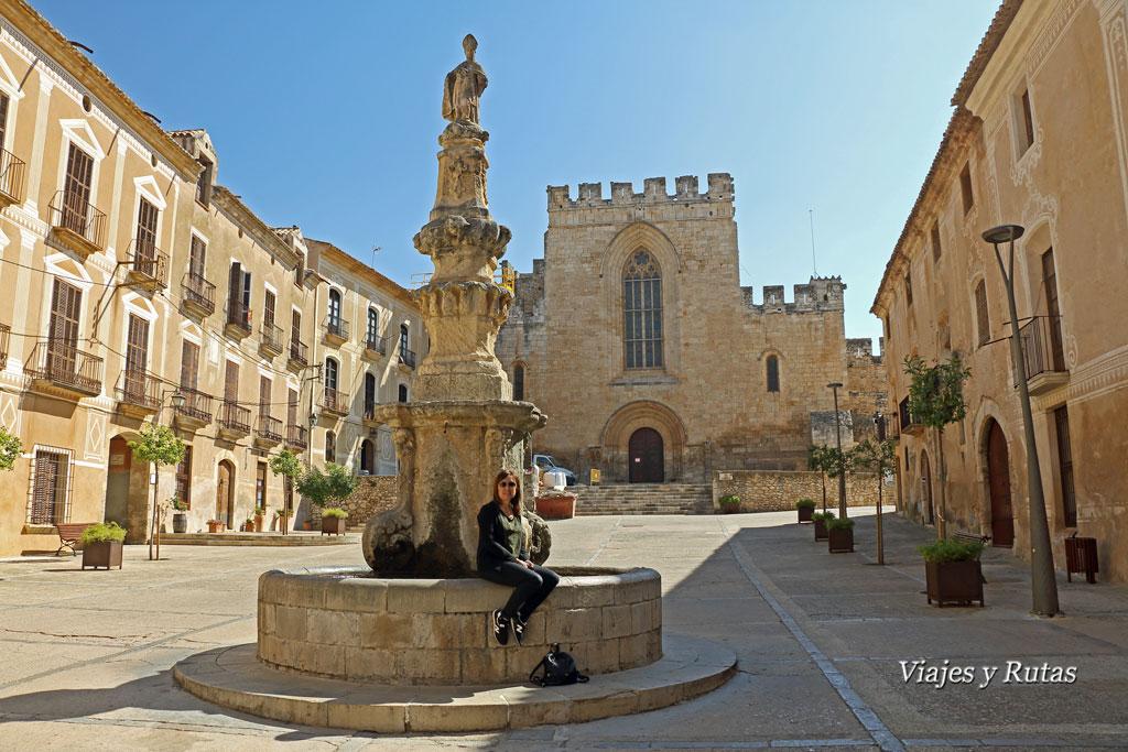 Plaza de Sant Bernat, Santes Creus