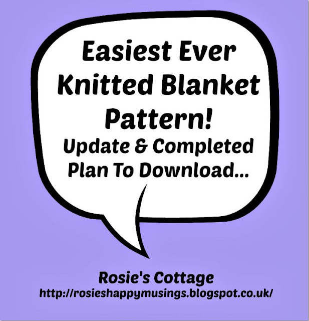 Easiest Ever Knitted Blanket Pattern