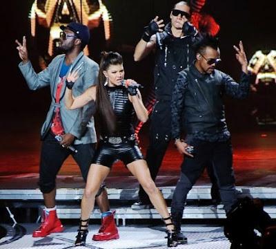 Foto de Black Eyed Peas en el escenario