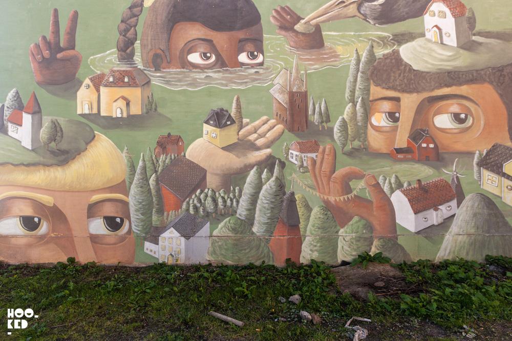 Rizoma's Street Art Festival - in Falköping, Sweden