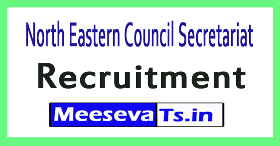 North Eastern Council Secretariat NEC Recruitment