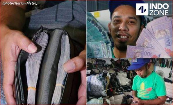 Beli Pakaian Bekas, Pria Asal Malaysia Ini Beruntung Temukan Dompet Isi Puluhan Juta Didalam Saku