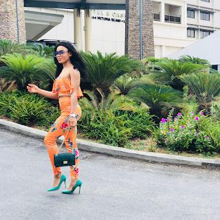 BBNaija's NinaIvy and mentor Toyin Lawani step out on matching outfits