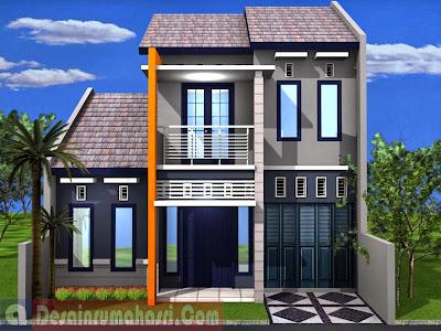 rumah minimalis sederhana 2 lantai | desain rumah