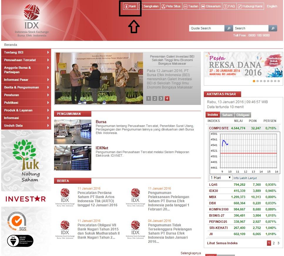 Cara Melamar Kerja Di PT Bursa Efek Indonesia Terbaru