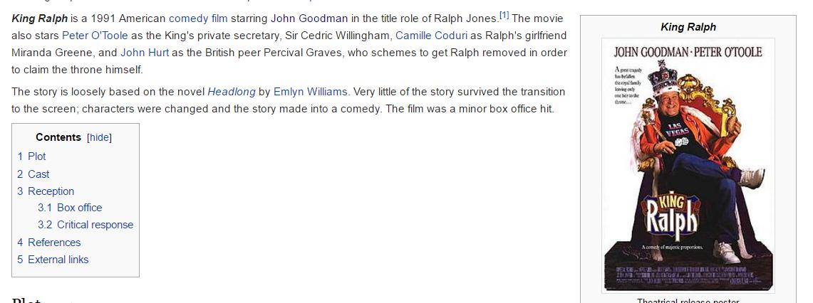 king ralph film