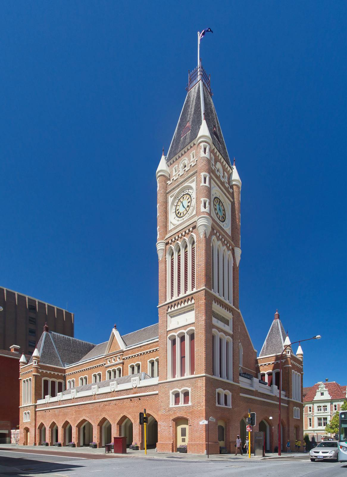 伯斯-市區-景點-推薦-伯斯市政廳-Perth Town Hall-自由行-旅遊-必玩-必去-遊記-行程-Perth-Best-Tourist-Travel-Attraction
