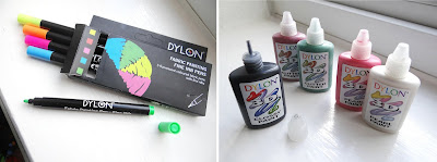 DYLON fabric, DYLON Craft, fabric paint