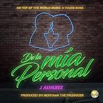 J Alvarez - De la Mia Personal - Single Cover