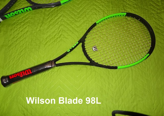 Wilson Blade 98L tennis racket - 16x19 and no Countervail