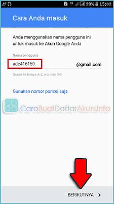 contoh cara membuat email