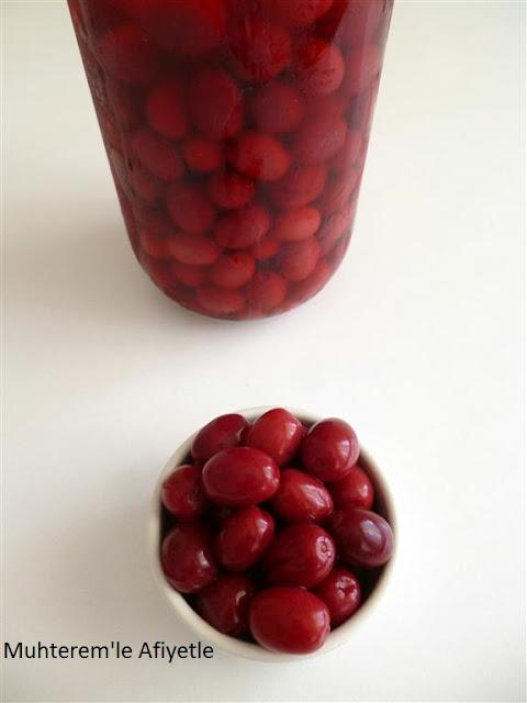 kızılcıktan zeytin tarifi