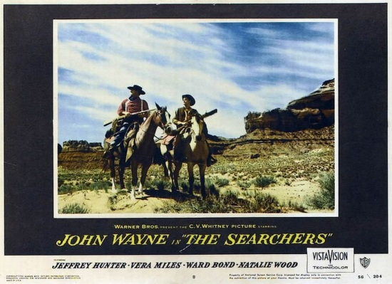 CENTAUROS DEL DESIERTO (THE SEARCHERS, 1956)