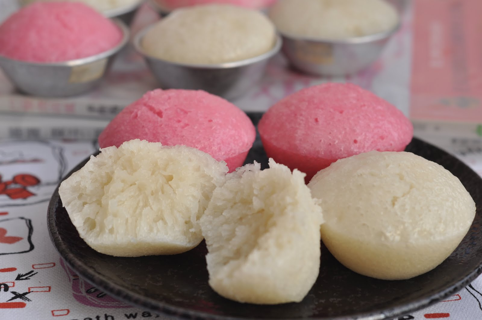 Rice Flour Cake With Coconut Milk