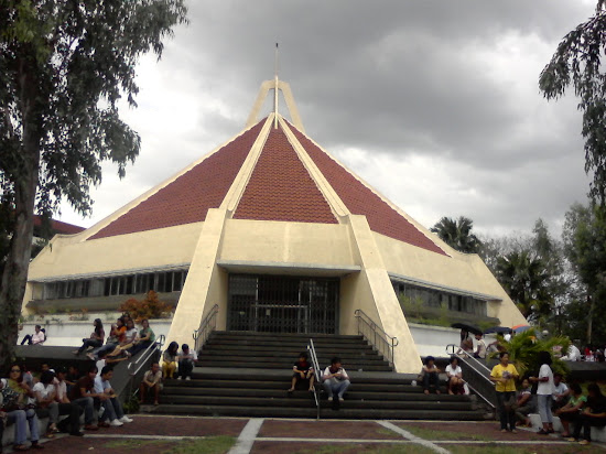 PUPCET Day - Chapel inside the PUP-Sta. Mesa Campus