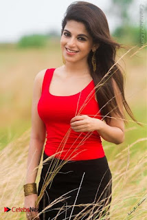 Veera Tamil Movie Actress Iswarya Menon Latest Poshoot Gallery  0009.jpg