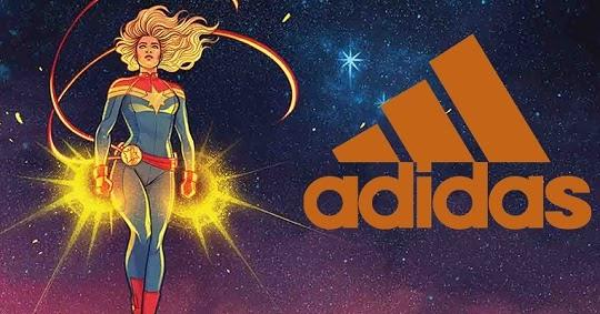8599f37f972 Ilustradora Jen Bartel revela a arte e o novo modelo de Tênis da Adidas  inspirado em Capitã Marvel ~ Universo Marvel 616