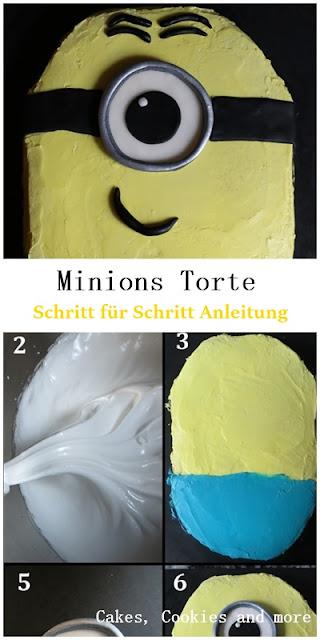 Minions Torte - Schritt für Schritt