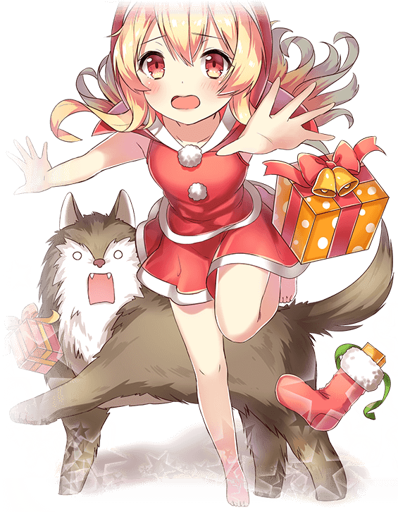 Christmas Little Red Riding Hood