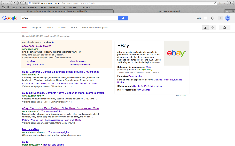 Comprar En Ebay Desde Mexico Comprar Con Ebay Global Shipping Program Desde Mexico