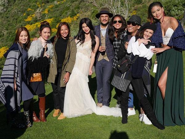 Erwan Heusaff-Anne Curtis Wedding Friends