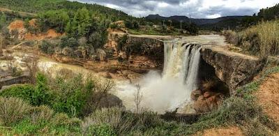 El Salt de la Portellada, río Tastavins