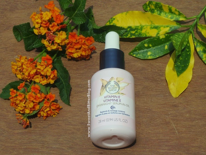 The Body Shop Vitamin E Overnight Serum in Oil Review India