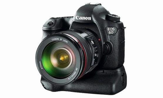 Harga dan Spesifikasi Kamera Canon 6D Terbaru 2016