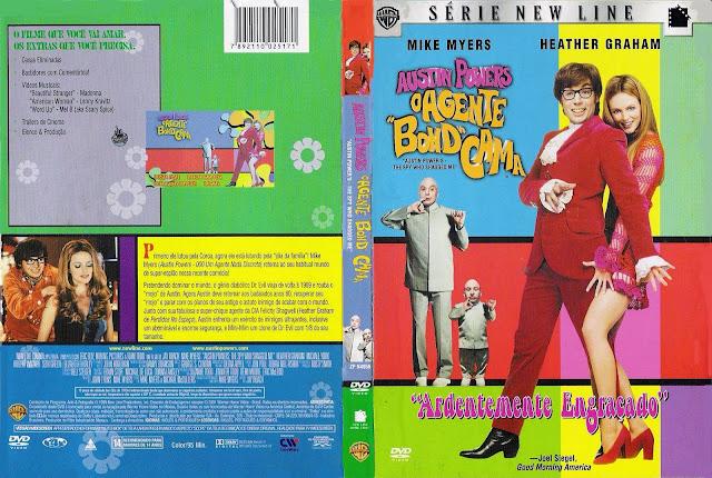 Capa DVD Austin Powers O Agente Bond Cama