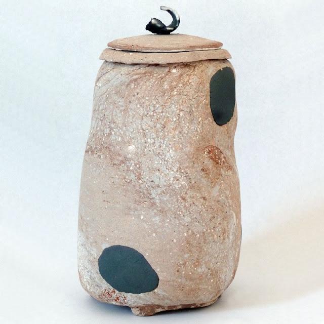 Pot céramique d'art