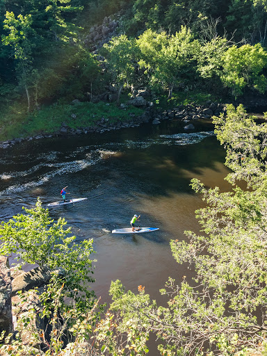 Stand Up Paddleboarders on the St. Croix National Scenic River