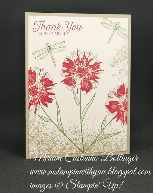 Miriam Castanho-Bollinger, #mstampinwithyou, stampin up, demonstrator, dsc, thank you, touches of texture, flourishing phrases stamp set, wink of stella, su