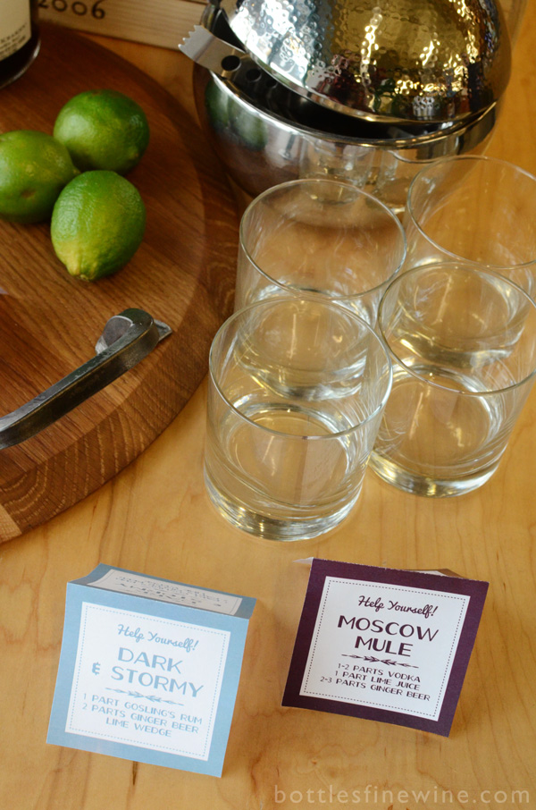 how to set up a self serve bar cocktails recipe
