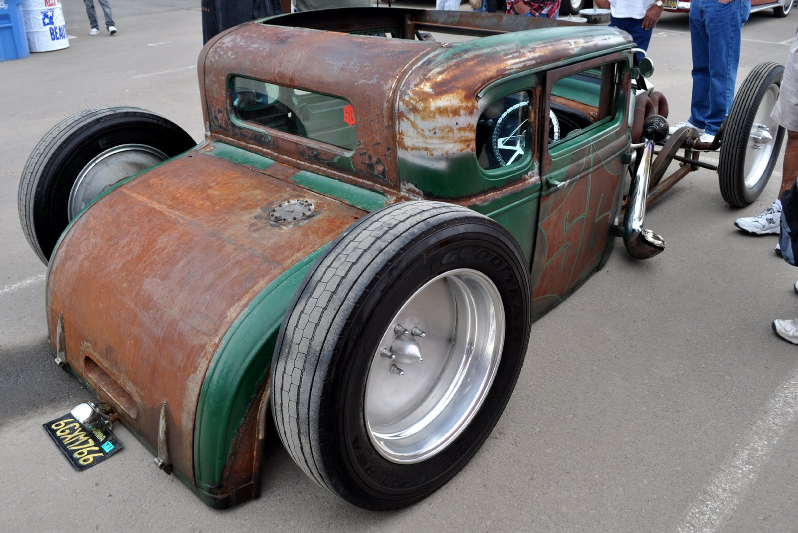 The SG rat rod.
