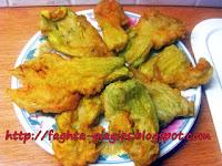 Κολοκυθολούλουδα τηγανιτά με χυλό σόδας - by https://syntages-faghtwn.blogspot.gr