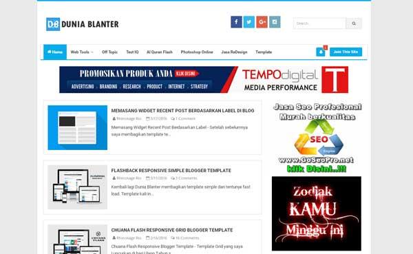 idBalnter.com - Situs blog berbagi Template Gratis