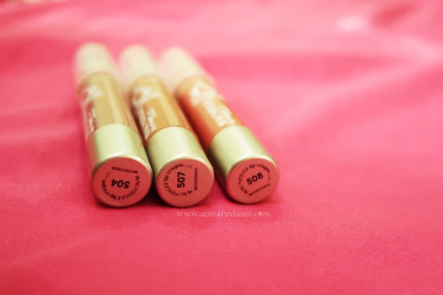 Review Madame Gie Magnifique Lip Crayon Satin
