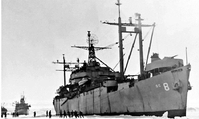 Η αποστολή του Ναυάρχου Μπερντ στην Ανταρκτική, το 1946…