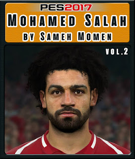 PES 2017 Faces Mo Salah by Sameh Momen