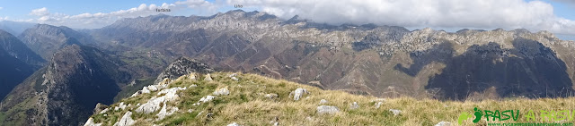 Ruta a la Pica de Peñamellera: Panorámica al Cuera
