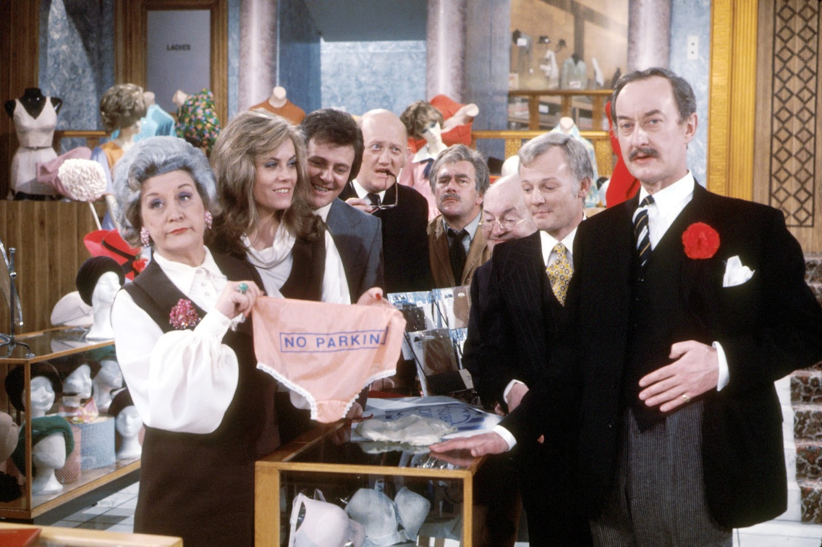Are You Being Served Image of Full Cast