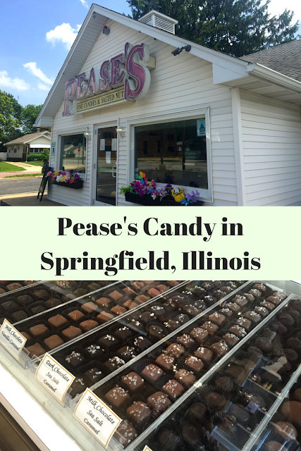 Pease's Candy in Springfield, Illinois