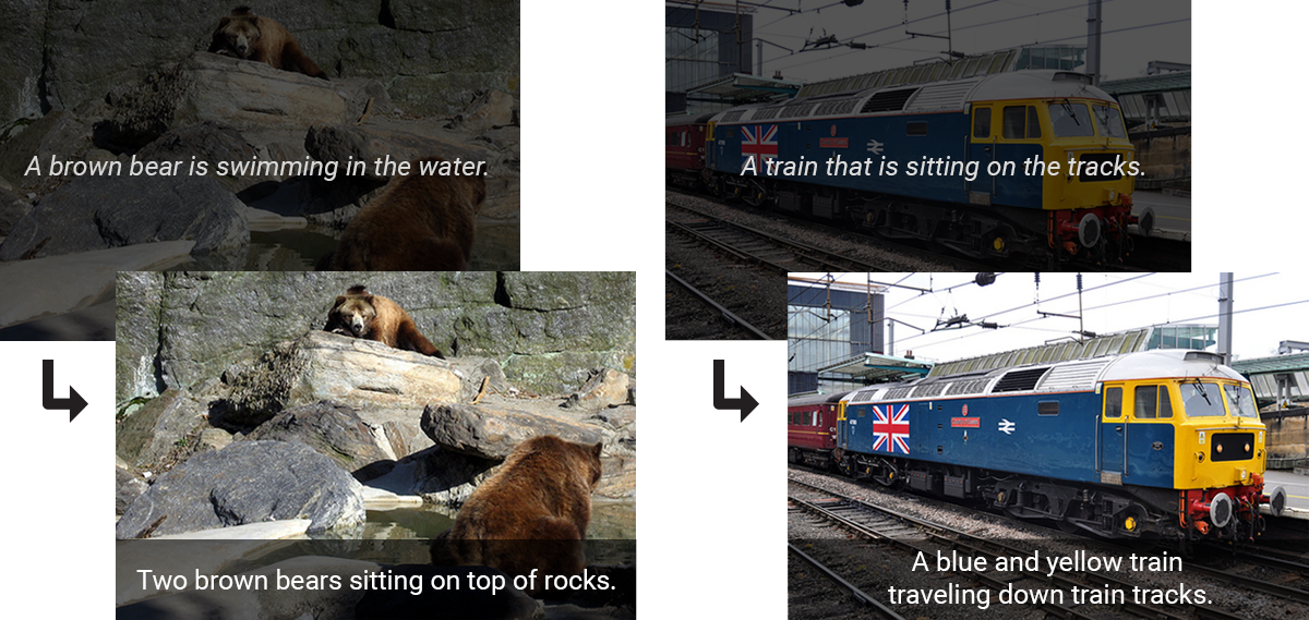 Google AI Blog: Show and Tell: image captioning open sourced